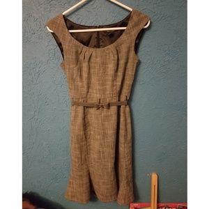 White House Black Market Dress (Belt not included)